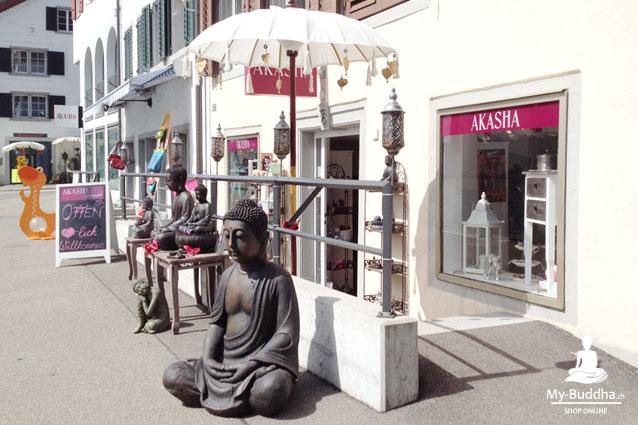 buddha figuren schwarz mit deko im 2er set my buddha ch by akasha gmbh. Black Bedroom Furniture Sets. Home Design Ideas